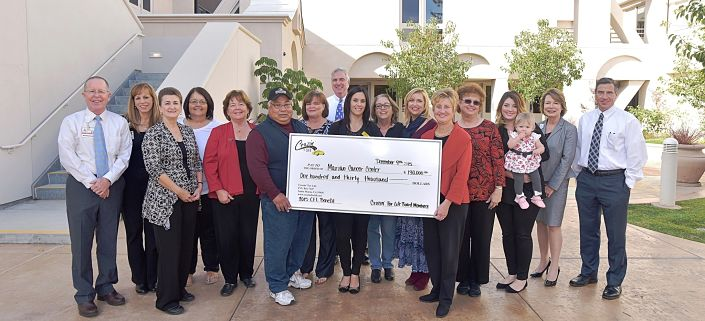 Cruzin' for Life presents $130,000 donation to Marian Foundation