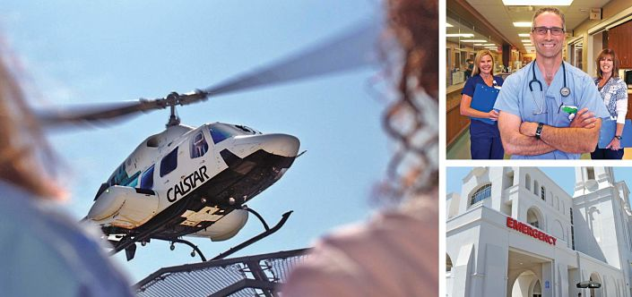 Helicopter landing, Emergency Department physician, nurses, marian regional medical center, emergency department