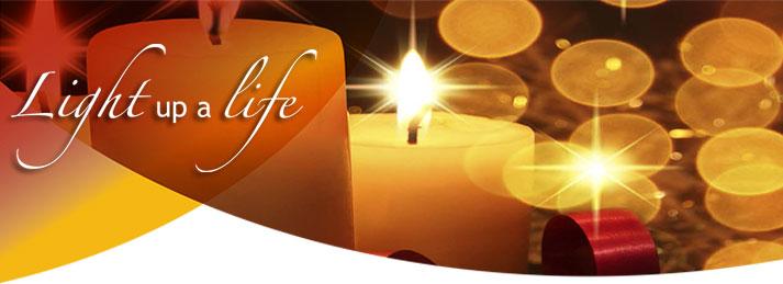 Light Up a Life Banner